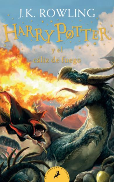 Audiolibro de Harry Potter y El Cáliz de Fuego