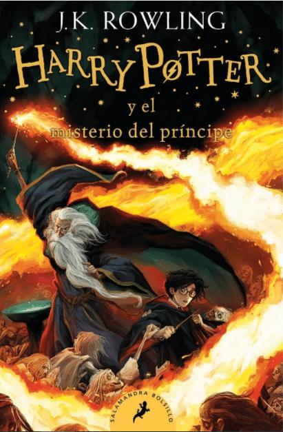Audiolibro de Harry Potter y El Misterio del Príncipe